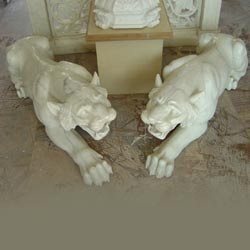 Indian Marble Animal Figures