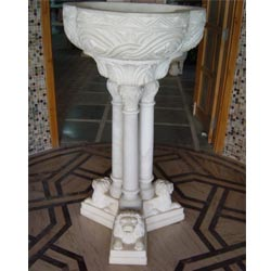 Indian Marble Bird Bath